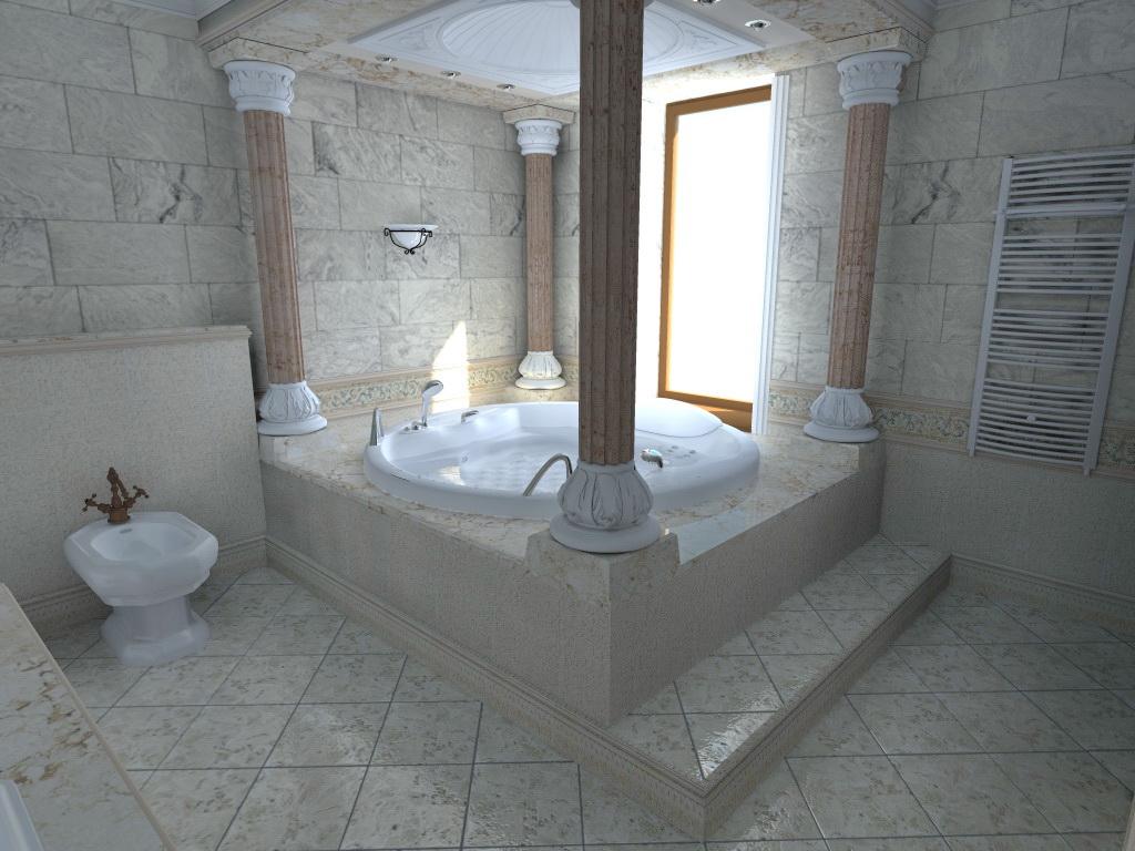 Интерьеры в римском стиле